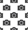 photo camera seamless pattern vector image