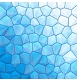 Blue abstract geometrical background vector image