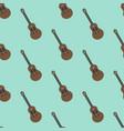 guitar seamless pattern vector image