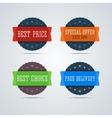 Best price badge vector image vector image