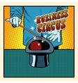 Business magic hat circus vector image