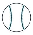 single baseball icon vector image