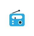 radio colorful icon symbol premium quality vector image