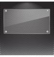 Metal Grill vector image vector image
