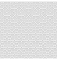 Delicate grey Seamless Flower Pattern in Oriental vector image