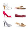 lady footwear's vector image
