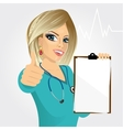 nurse doctor healthcare and medicine vector image