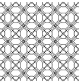 Seamless Black White Pattern Background vector image