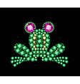 Gem Frog vector image