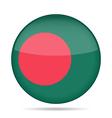 button with flag of Bangladesh vector image