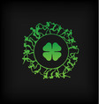 St Patricks Day Graphic vector image