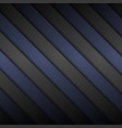black and blue diagonal stripes background vector image