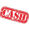Cash stamp vector image