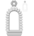 window arch vector image