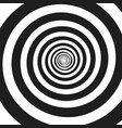 abstract monochrome spiral vector image