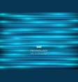 abstract technology light blue laser horizontal vector image
