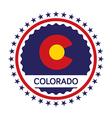 Colorado Day vector image