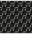 Black music seamless pattern vector image