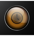 clock icon background vector image