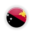 Papua New Guinea icon circle vector image
