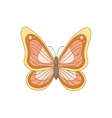 Spring butterfly vector image vector image