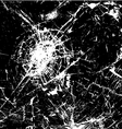 Cracked Glass vector image