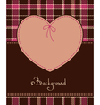 valentine romantic heart vector image vector image