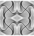 Design monochrome decorative background vector image