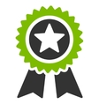 Guarantee icon from Competition  Success Bicolor vector image