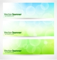 banners and headers abstract lights vector image vector image