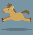 Horses Cartoon vector image vector image