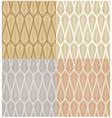 seamless gold foliage pattern vector image