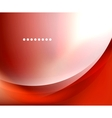 Shiny smooth blurred wave background vector image