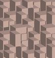 3d cray block texture vector image