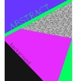 Abstact background in retro 80s style vector image