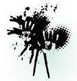 hand splash vector image vector image