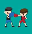 boxing cartoon vector image