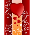 Valentine's greeting card vector image vector image
