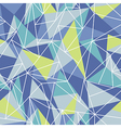 geometric colorful pattern vector image vector image