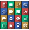 Set of internet shopping icons vector image