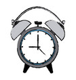 alarm clock wake up time ring icon vector image