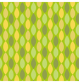 Seamless geometric pattern with diamond shapes vector image