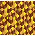 Seamless geometric background Mosaic vector image vector image