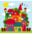 houses - vector image