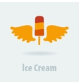 Ice Cream Symbol vector image