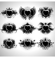 heart forms vector image