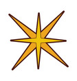 Star burst isolated icon vector image