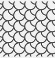 black circles pattern vector image