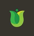 Tulip Logo vector image