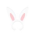 Rabbit ears vector image